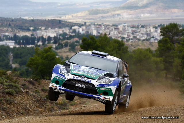Acropolis Rally - Greece 2012 Photographs