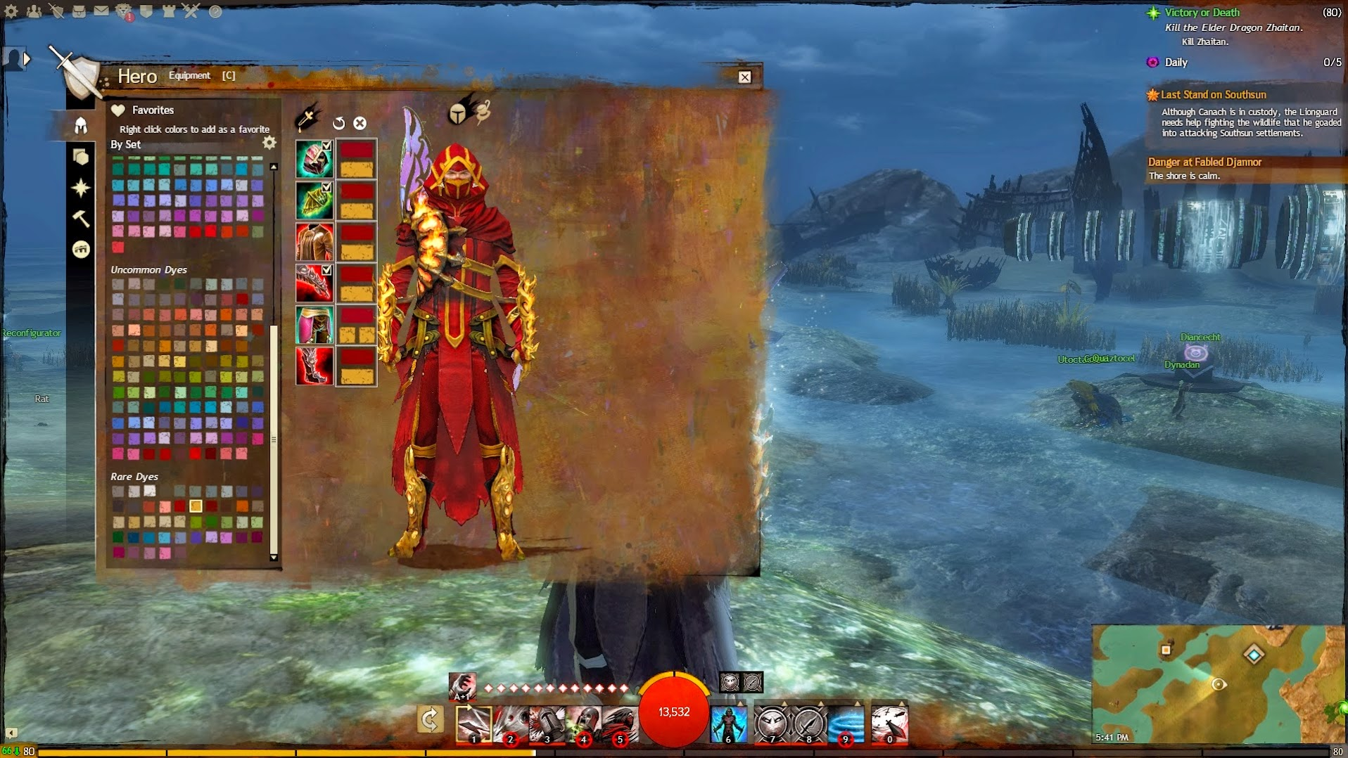 Guild Wars 2 Dyes