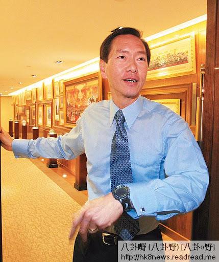 陳智思是強積金計劃諮詢委員會成員,但強積金推出時,他與其他銀行合作搞銀聯,搶佔強積金市場,大有利益衝突之嫌。(《蘋果日報》圖片)