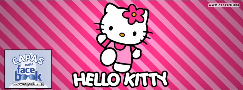 Capas para Facebook Hello Kitty