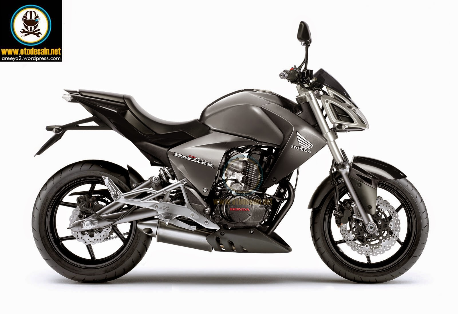 Modifikasi Motor New Megapro Street Fighter