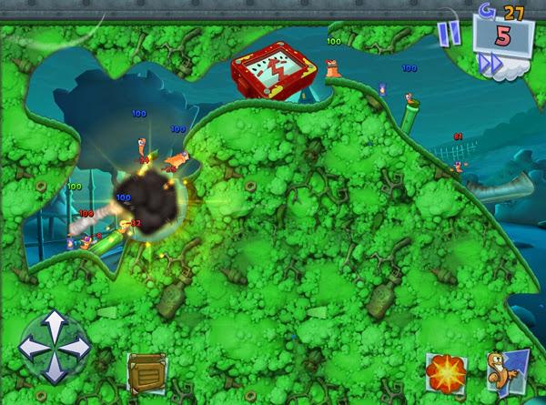 Team17 xác nhận sẽ có Worms 3 cho thiết bị iOS 6