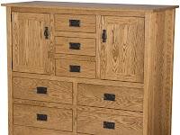 Oak Wardrobe Dressers