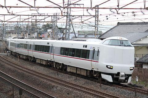 JR西日本 287系特急電車