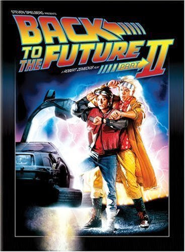 Poster Of Back to the Future II (1989) Full Movie Hindi Dubbed Free Download Watch Online At Alldownloads4u.Com