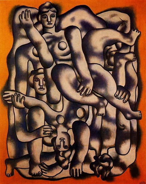Fernand Léger - Los acróbatas de gris