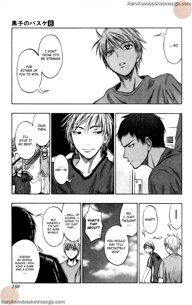 Kuroko no Basket Manga Chapter 68 - Image 13
