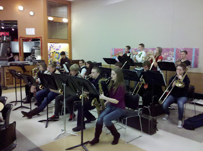 GHS Jazz Band @ 2012 Holiday Luncheon