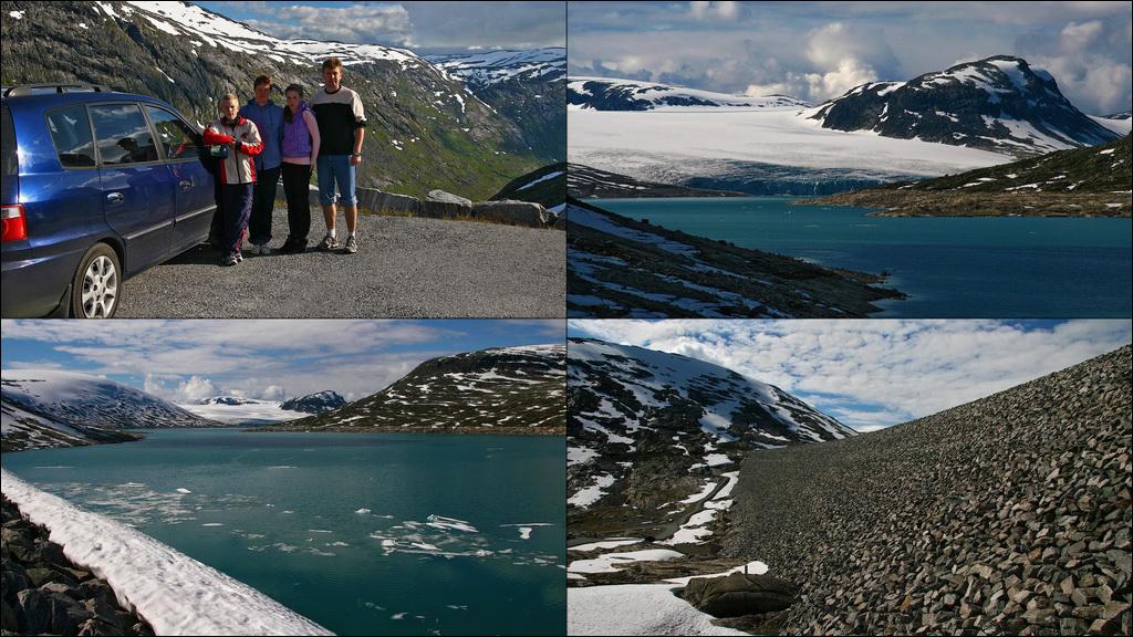 Норвегия ледниковое озеро плотина Norway Styggevatnet Austdalsvatnet Jostedøla Austdalsbreen Nigardsbreen Jostedalsbreen