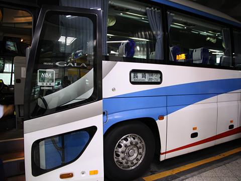 長崎自動車「オランダ号」 ・532<br />  長崎新地ターミナル到着