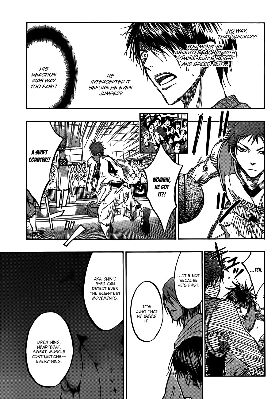 Kuroko no Basket Manga Chapter 178 - Image 17