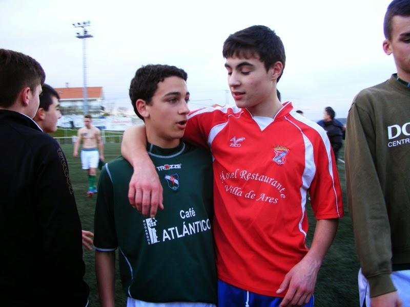 Deportividade no derbi de xuvenís Numancia - Mugardos (22/03/2014)