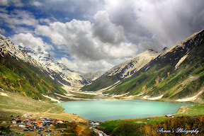 A Fairy Tail Lake Saif ul Malook, Queen Lake of Kaghan Valley, Pakistan...