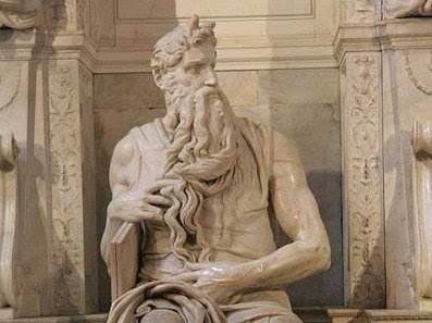 The hand of God and the hands of Michelangelo