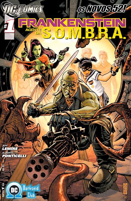 Frankenstein Agente da S.O.M.B.R.A. (Os Novos 52)