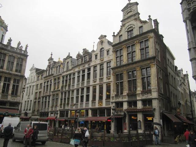 Le Renard, Le Cornete, le roy d´espagne, grand place bruselas