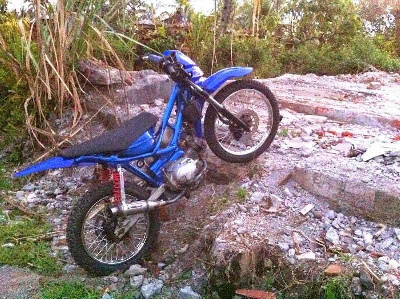 Modifikasi Suzuki Shogun Menjadi Trail
