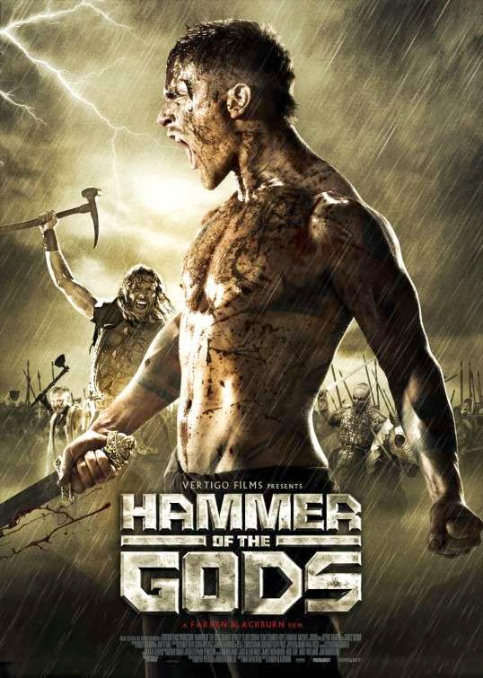 Poster Of English Movie Hammer of the Gods (2013) Free Download Full New Hollywood Movie Watch Online At Alldownloads4u.Com