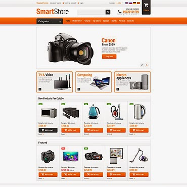 Home Electronics osCommerce #52928
