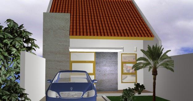 Desain rumah type 36 elegan dan nyaman - Desain Terbaru 2014