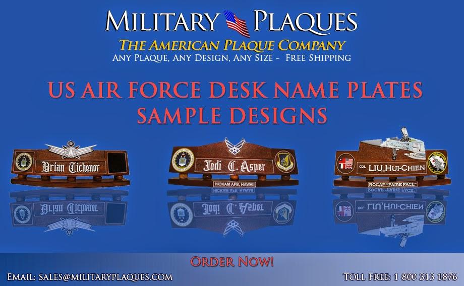Air Force Desk Name Plates Desk Design Ideas