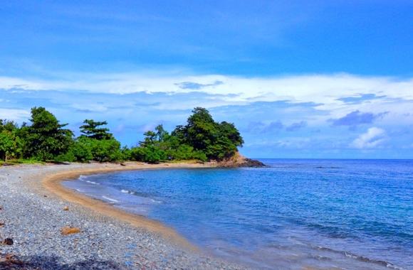 pantai dami, desa kombot, Bolsel, Bolaang Mongondow Selatan, Posigadan, pinolosian, Humas Bolsel