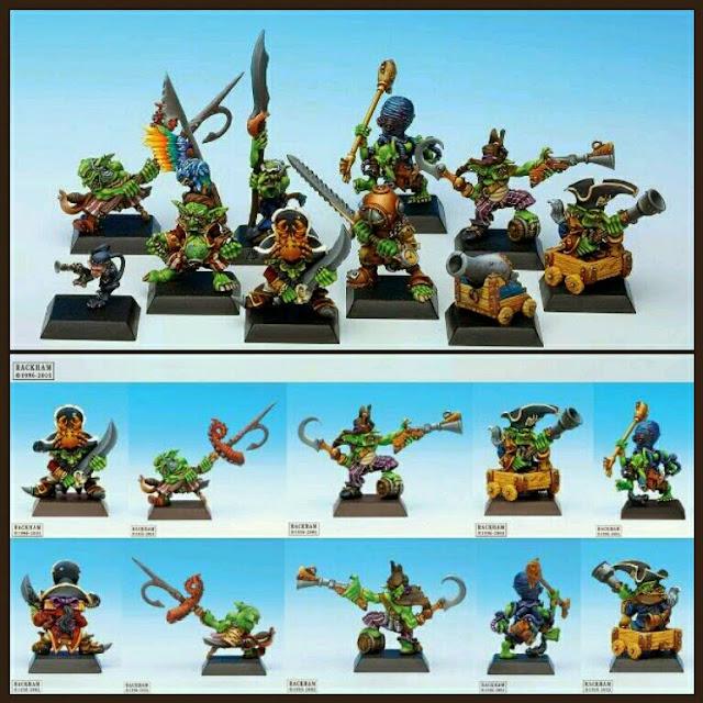 Goblins Piratas Rackham
