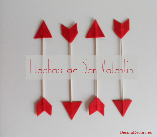 Salon De Clases Decorado De San Valentin ~ Flechas de amor para decorar en San Valent?n