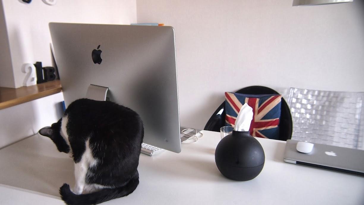 iMacとインテリア