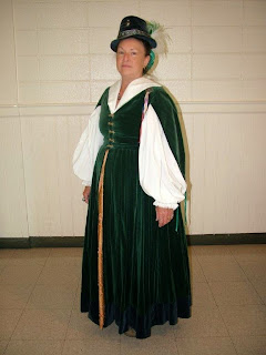 Mistress Beth, our Tudor secretary