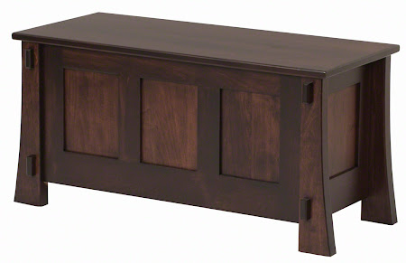 Matching Furniture Piece: Seville Chest in Onyx Maple