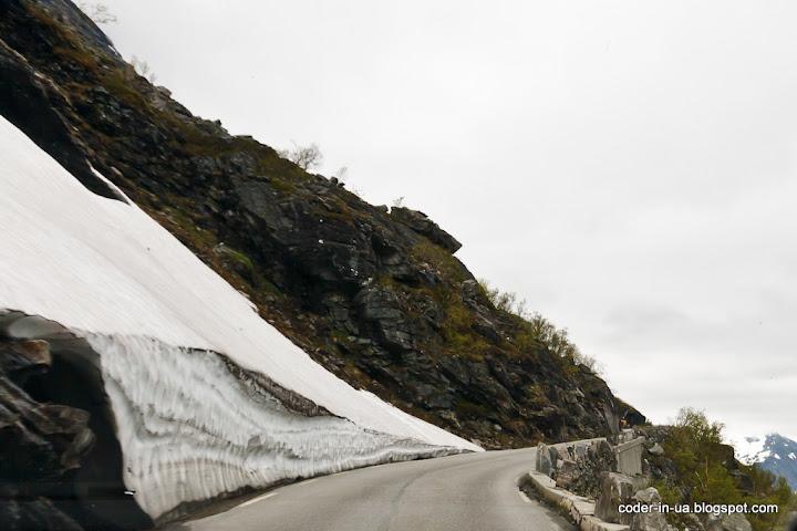 дорога троллей.гейрангер.норвегия