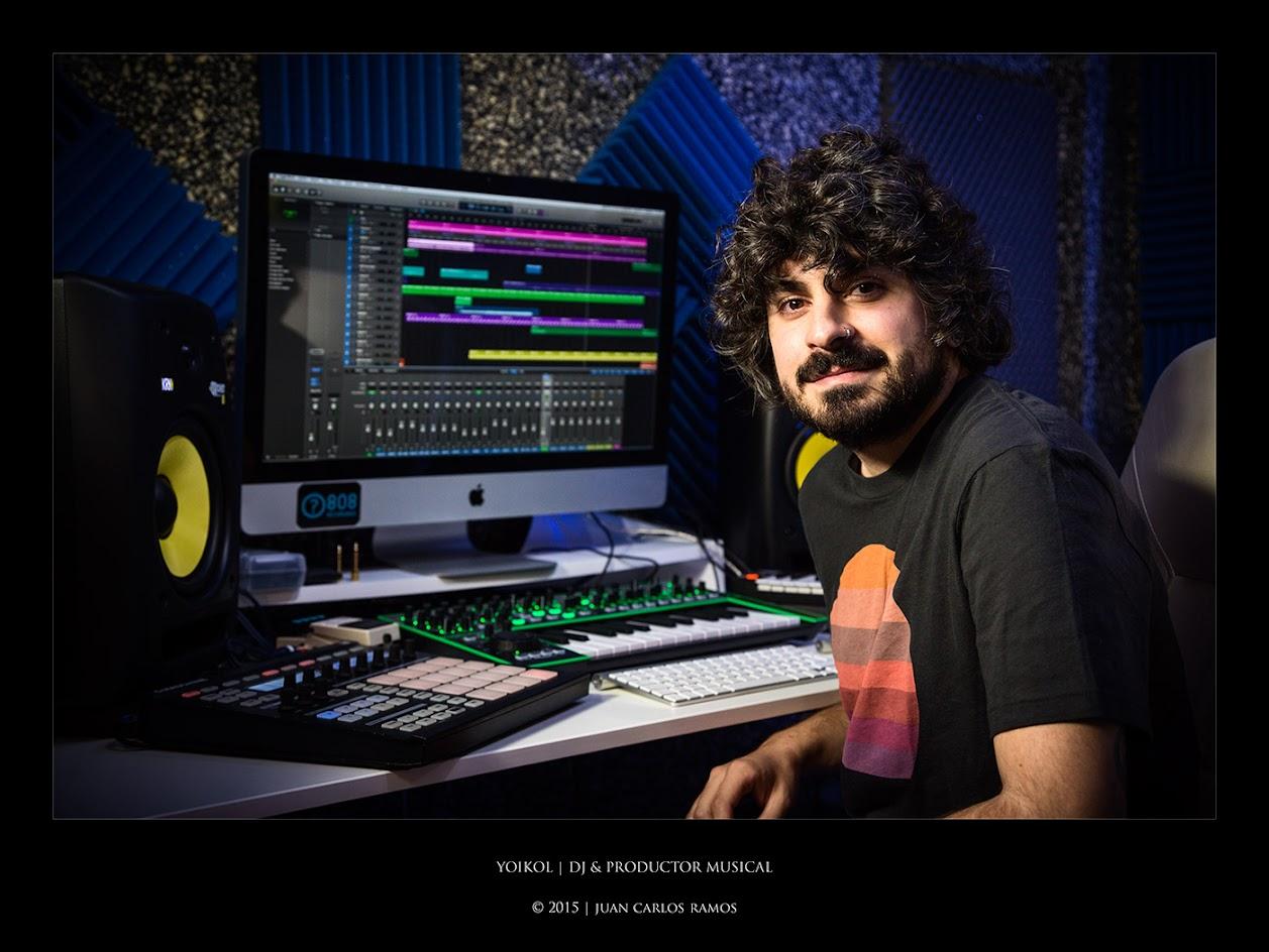 Yoikol DJ y productor musical por Juan Carlos Ramos fotógrafo de toledo