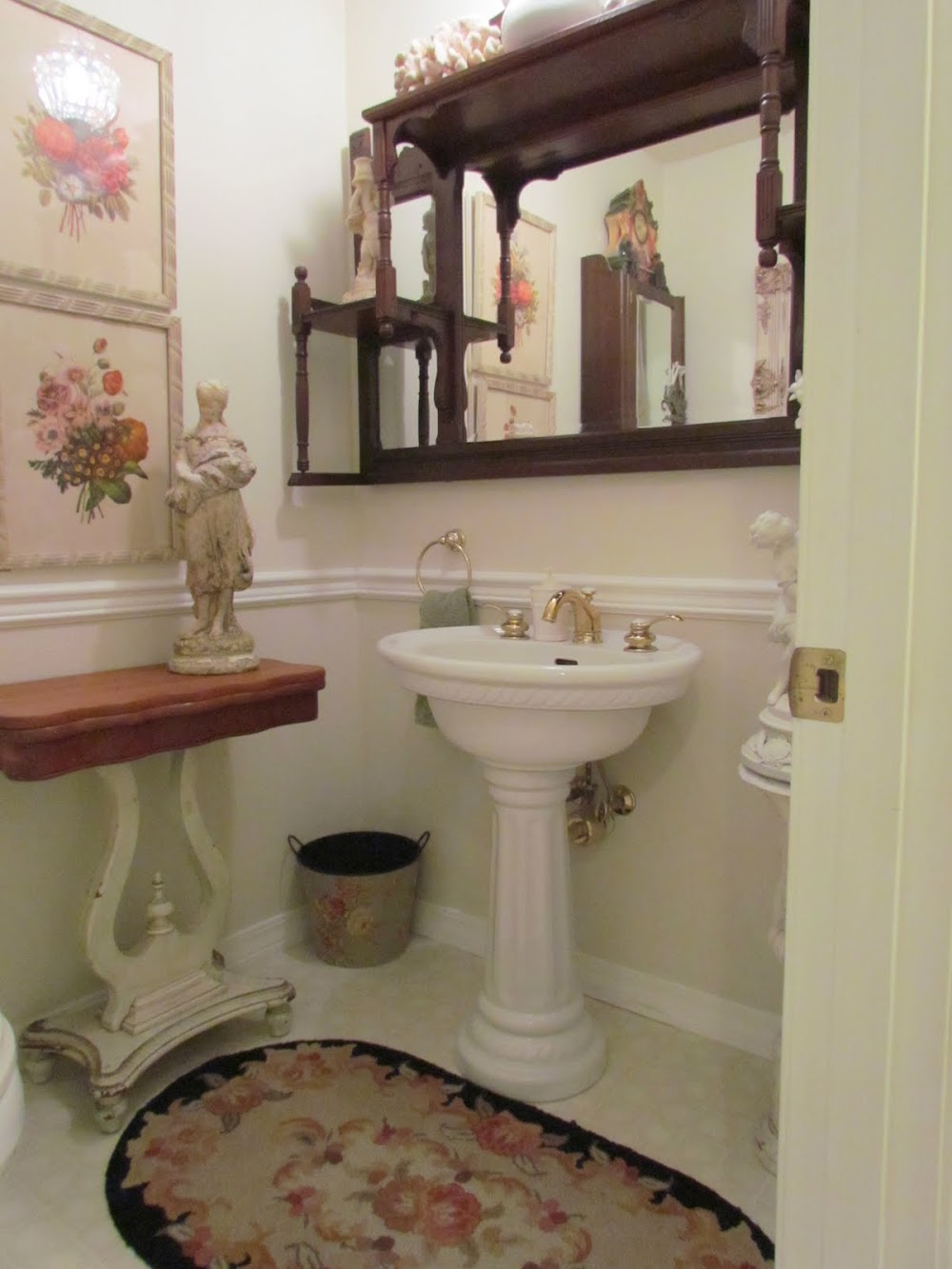 My Shabby Little Powder Room Opinions Wanted
