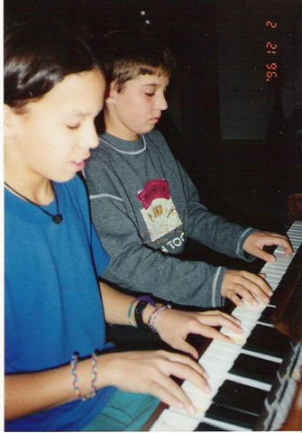 Концерт учащихся Титора 02.12.1996