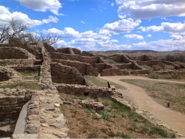 View of Aztec Ruin