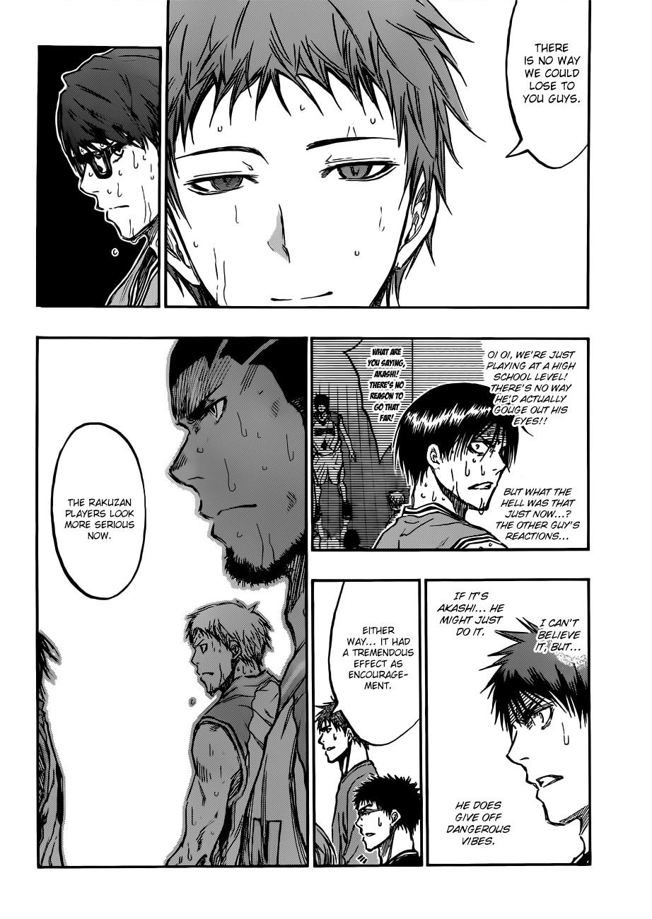 Kuroko no Basket Manga Chapter 181 - Image 16
