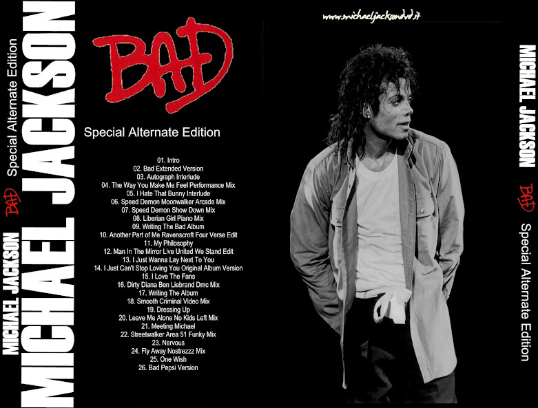 michael jackson bad special alternate edition cd