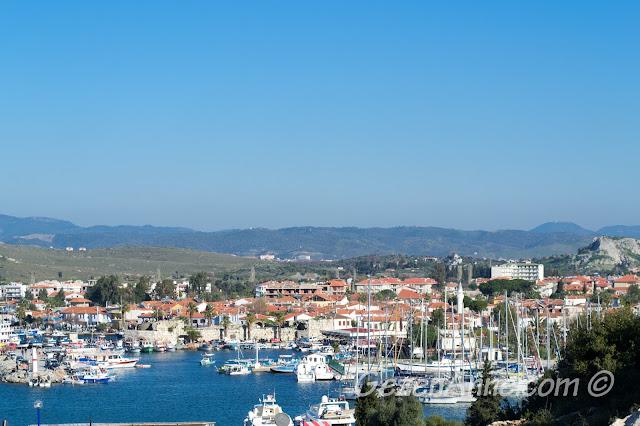 Sığacık manzarası, Seferihisar İzmir