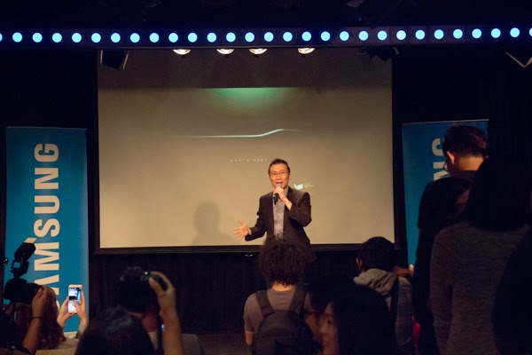 Luke Au, the Head of Product Marketing of Samsung Malaysia's Mobile