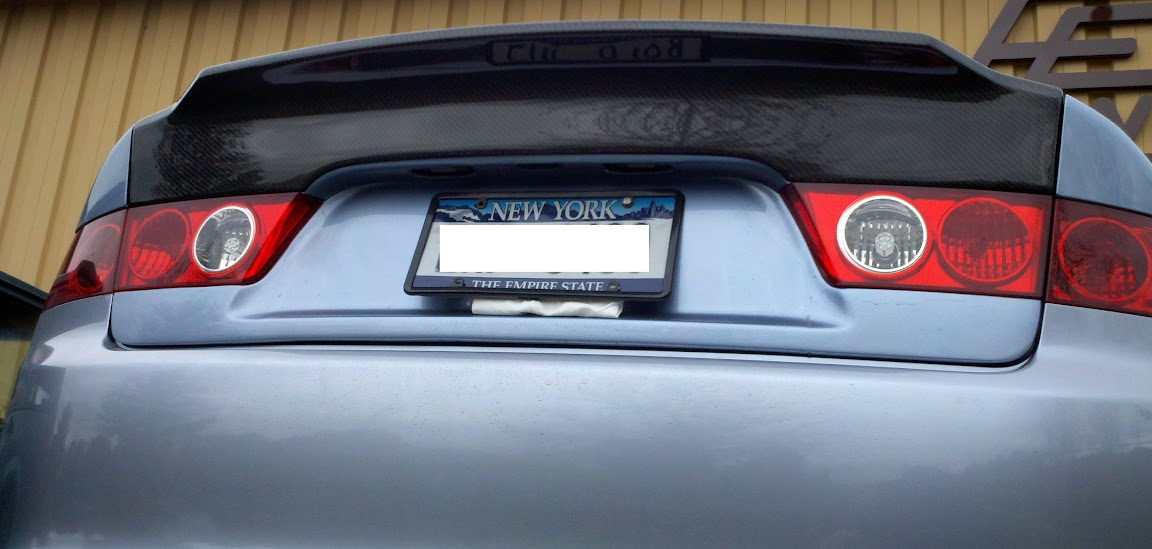Black roofVIS Demon style trunk lidLooking good  Acura TSX Forum