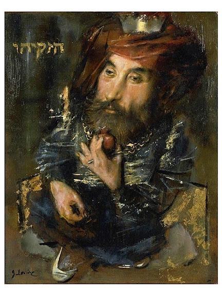 Jack Levine - Hezekiah