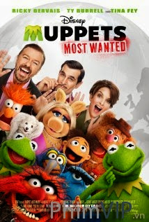 Những Chú Rối Bị Truy Nã - Muppets Most Wanted poster