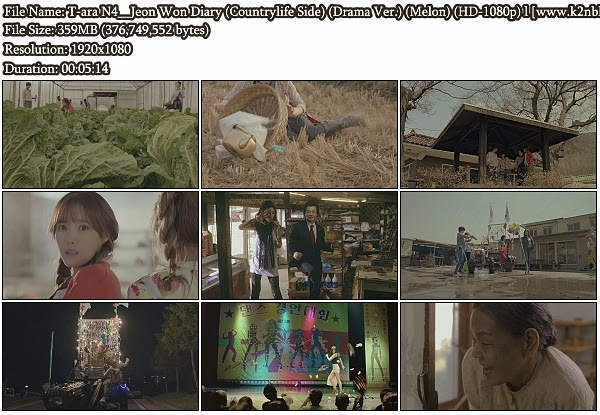 [MV] T-ara N4 - Countrylife Side (Drama Ver.) (Melon HD 1080p)