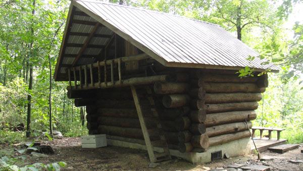 Ed Garvey Appalachian Trail Shelter