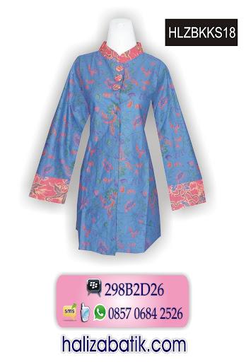 grosir batik pekalongan, Blus Batik Modern, Blus Kerja, Baju Blus Batik