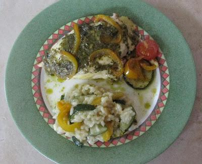 Papillote de poulet aux légumes du soleil - recette indexéedans les Viandes
