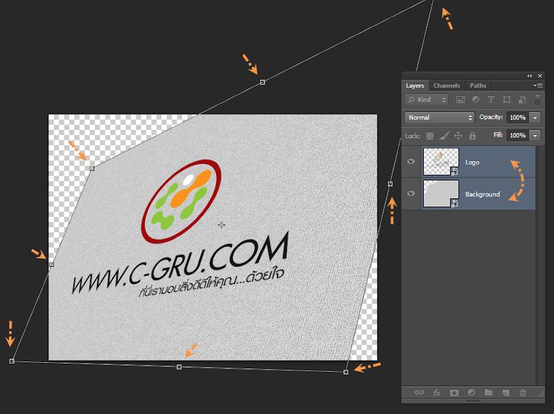เทคนิคการทำภาพ Logo แนวลายปักเสมือนจริง Emb_logo06