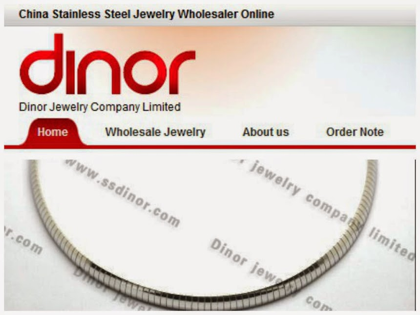 Dinor jewelry manufacturer was established in 2008, which specialized in Stainless steel jewelry & Titanium jewelry & Tungsten jewelry & Alloy jewelry.