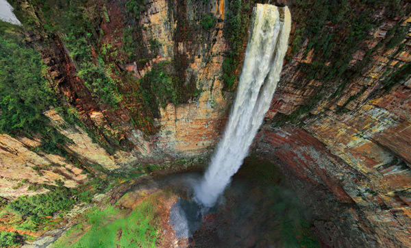 waterfall5 mini Sensational 360 Degree Aerial Panoramas Of Angel Falls [PHOTOS]
